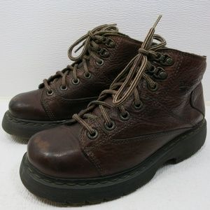 Dr. Martens UK 6 Oil Tanned Leather Hiking Boots 7